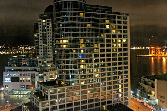 Auberge Vancouver Hotel:                   Our view
