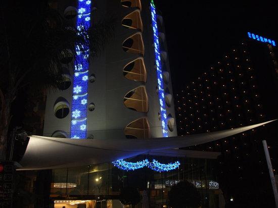 Riviera Beachotel:                   christmas in benidorm
