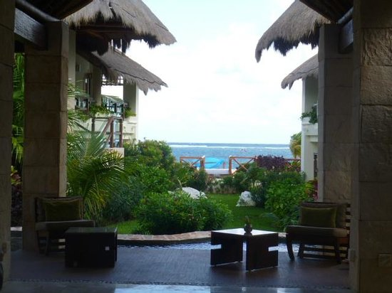 Azul Beach Resort Riviera Maya:                   View From Entrance - Gorgeous!