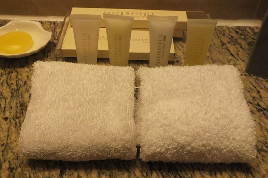Island Pacific Hotel: toiletries
