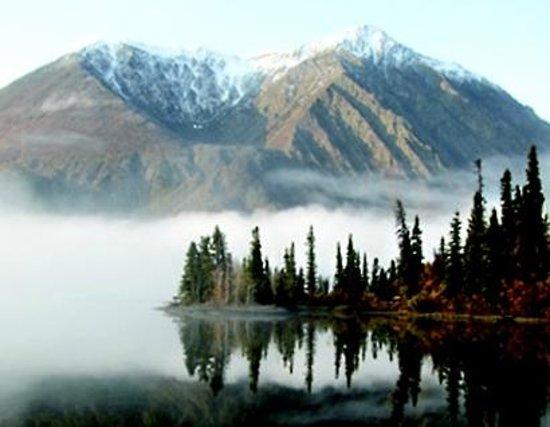 The Cabin : View of Kathleen Lake, Yukon