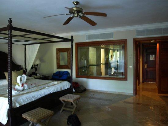 Luxury Bahia Principe Cayo Levantado:                   Our room (Superior Junior Suite)