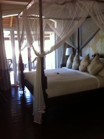 The Luang Say Residence:                   our beautiful pioneer suite