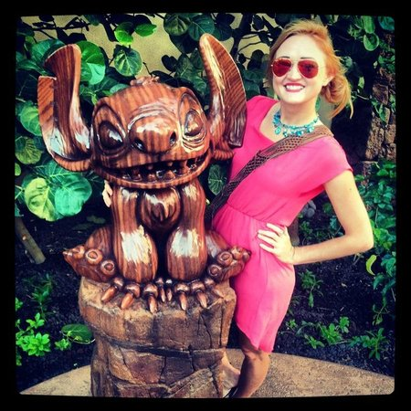 Aulani, a Disney Resort & Spa:                   I <3 Stitch!