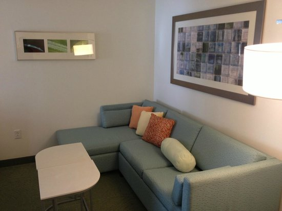 SpringHill Suites McAllen:                   Couch area