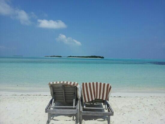 Fun Island Resort:                   spiaggia lato nord
