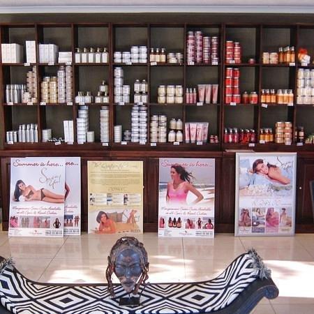 Mangwanani Spa @ Zevenwacht Winery :                   products to purchase