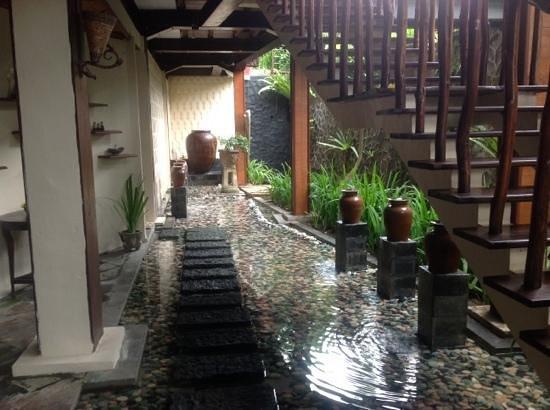 Junjungan Ubud Hotel and Spa: Cote restaurant