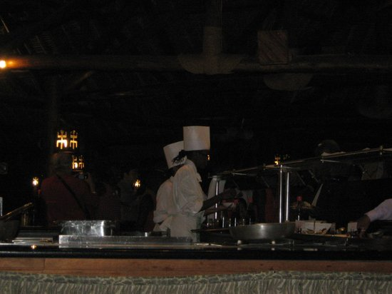 open kitchen restaurant at Mara Simba Lodge