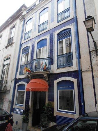 Hotel Anjo Azul (gay-friendly) in Bairro Alto, Lisboa