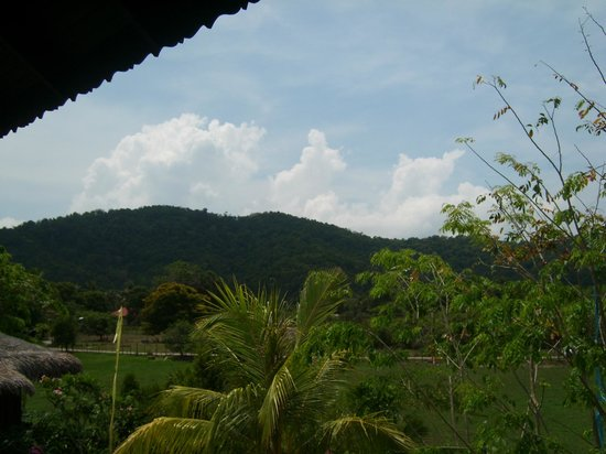Villa Molek Langkawi: View to the Hills