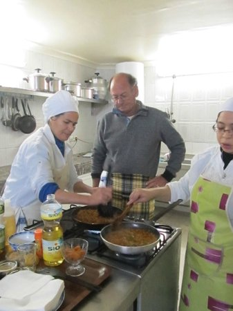 Riad El Yacout: Cookery class - a great experience