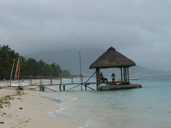 La Pirogue Resort & Spa-Mauritius:                   la plage