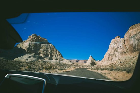Amangiri: private drive to the hotel