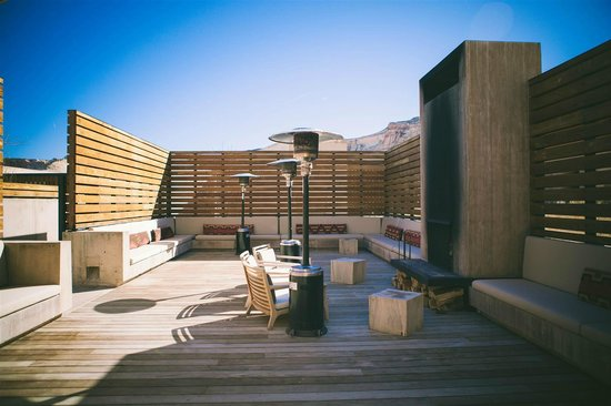 Amangiri: near the jacuzzi