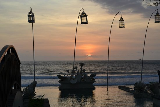 The Seminyak Beach Resort & Spa:                   Sunset