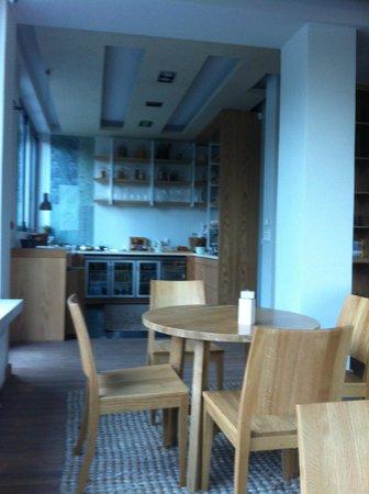 Natura Vytina Hotel : Χώρος Πρωινού