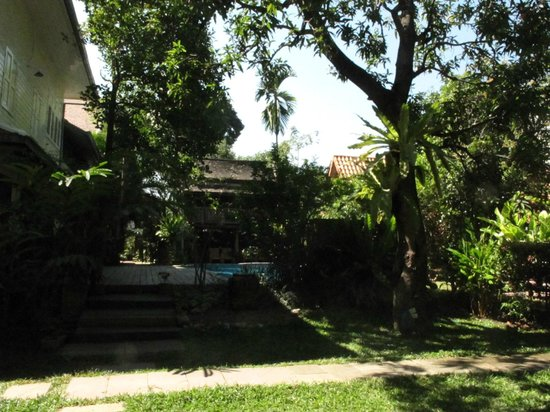 Baan Orapin Bed and Breakfast:                   vue de la chambre vers la piscine
