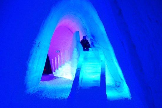 Snow Village:                   Ice Slide