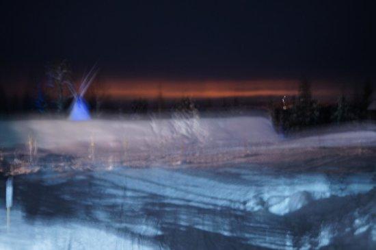 Snow Village:                   Northern Lights