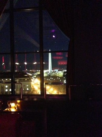 W Washington D.C.:                   view from POV