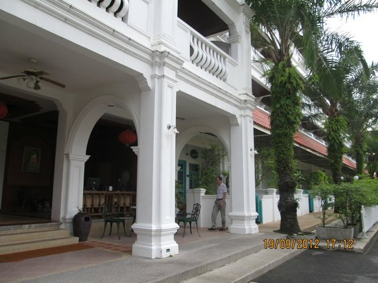 The Old Phuket:                   Serene Wing entrance Hall