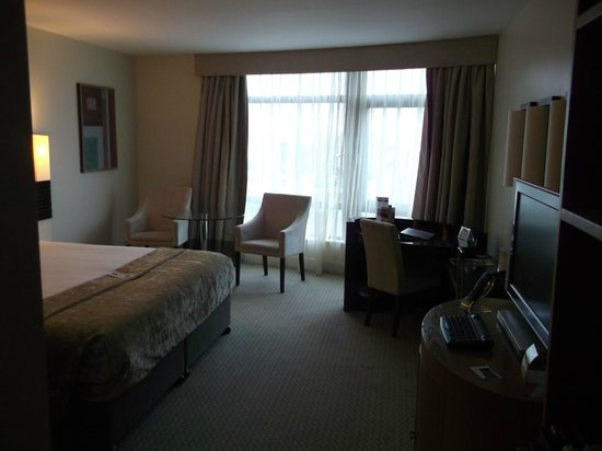Cork International Hotel:                   this is the room