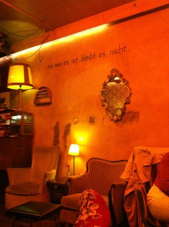 """Cafe Brecht:                   """"As it is, it does not remain."""""""