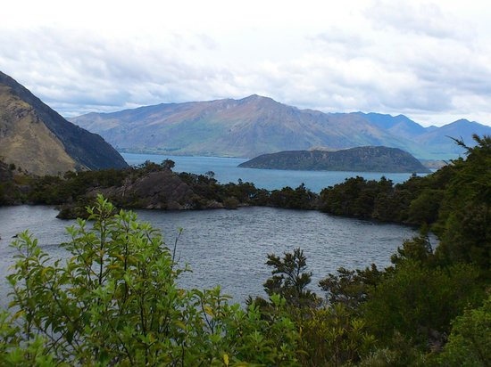Eco Wanaka Adventures:                                     A lake on an island, on a lake on an island, on a lake on an