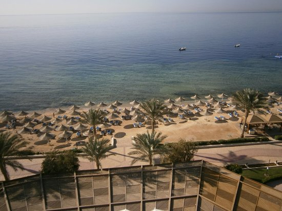 Melia Sinai:                   View from the tower