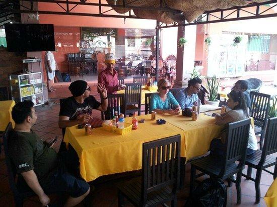 The King Angkor Villa :                   Dining area