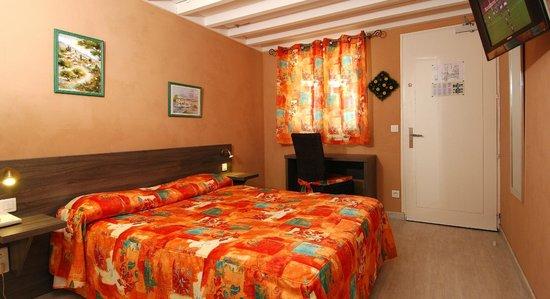 Hotel des 4 Vents : chambre double
