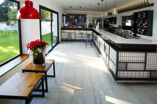 Aquarela Restaurante & Jardin: Barra