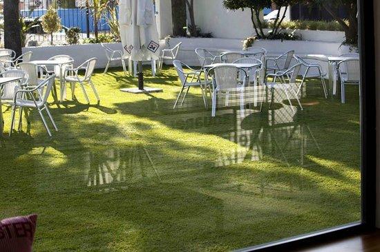 Aquarela Restaurante & Jardin: Terraza