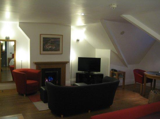 Castell Deudraeth:                                     Spacious  room