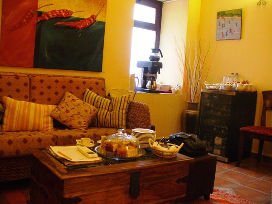 Hotel Molino del Puente Ronda:                   Sala de lectura