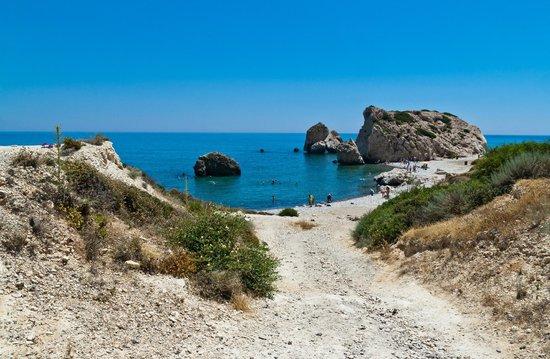 Kouklia, Cypr:                   Пляж