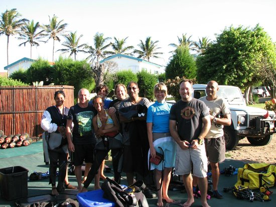 Aqua Planet Dive Center and Charter:                                     Dive trip with friends to Ponto with Aqua Planet