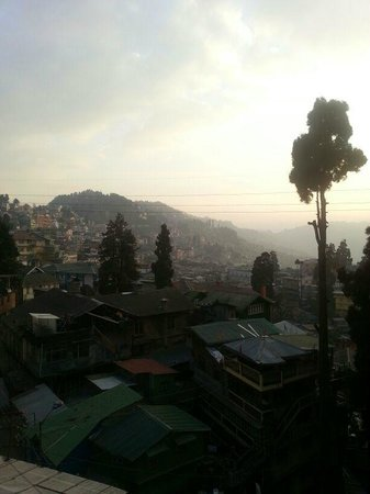 The Elgin, Darjeeling:                   View from the hotel