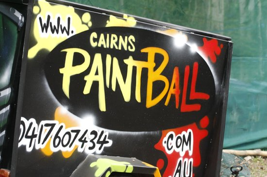 Cairns Paintball: The paintball trailer