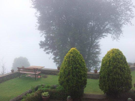 Villa Retreat:                   View when cloudy                 
