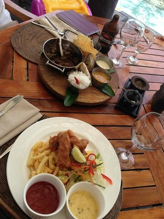 Sonaisali Island Resort Fiji:                   curry of the day