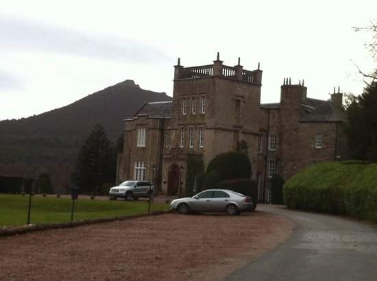 Macdonald Pittodrie House:                   Pittodrie House Hotel - front distant
