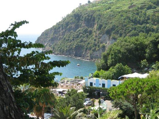 Don Felipe:                   vista dall'hotel