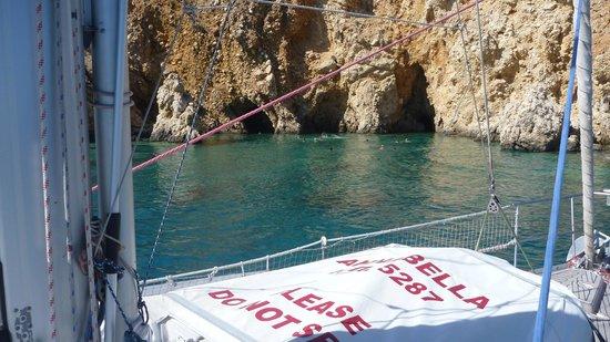 Naxos Sailing Tours:                                     Una splendida giornata di agosto, con lo yacht Annabella, ne