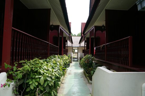 Pulau Pangkor, Malezya:                   The rooms in the hotel