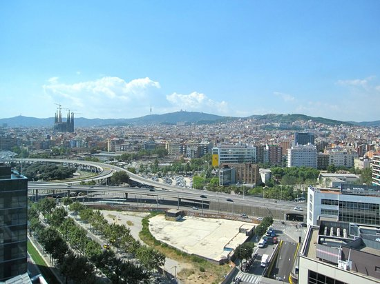 Novotel Barcelona City: Room with a view