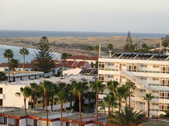 IFA Continental Hotel: panorama con dune dalla cam 737
