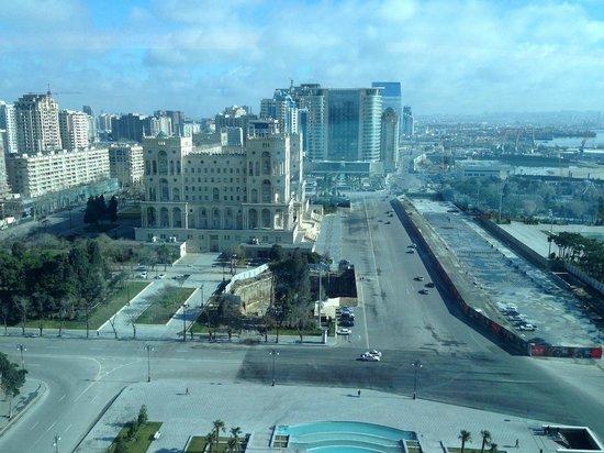 Hilton Baku:                   Executive Lounge View