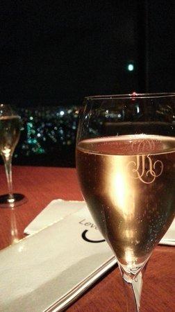 ANA Crowne Plaza Kobe:                   free glass of sparkling wine                 